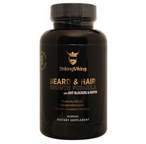 Striking Viking beard vitamin review