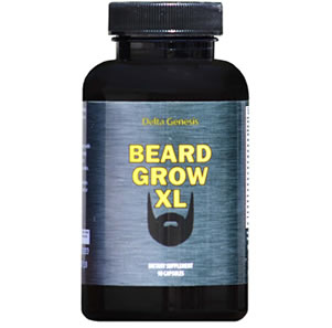 Beard Grow XL beard growth vitamin review