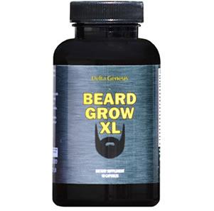 Beard Grow XL beard growth vitamin review