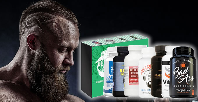 best beard growth vitamins cover photo