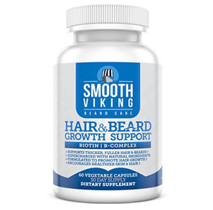 Smooth Viking beard growth vitamin review