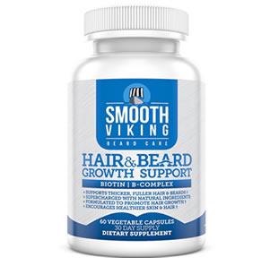 Smooth Viking beard growth vitamin review