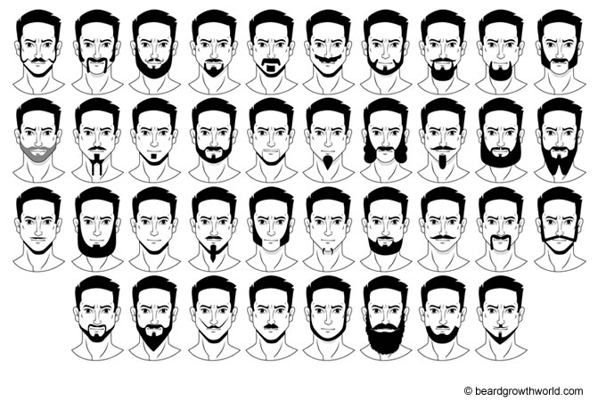 different styles of facial hair with pictures best beard styles for 37 styles will 4336 | beard styles main