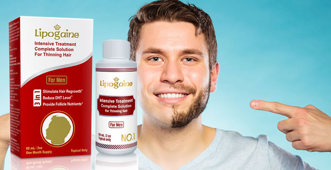 Lipogaine for Men - Can It Help To Grow Facial Hair?