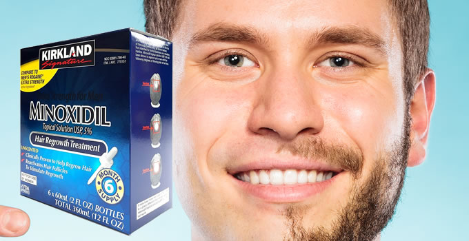 Minoxidil For Beards - Can Minoxidil Grow Facial Hair?