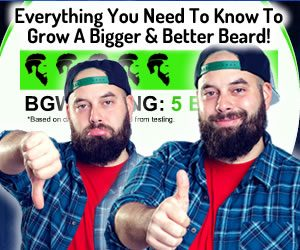 Beard Growth World Slogan