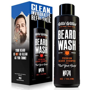 Wild Willies Beard Beard Wash and Shampoo