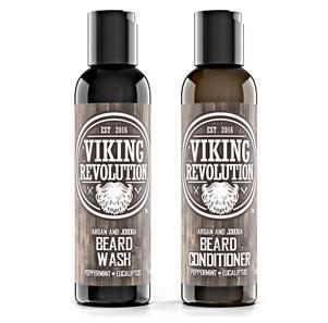 Viking Revolution Beard Wash and Conditioner