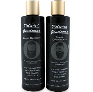 Polished Gentleman Beard Growth and Thickening Shampoo