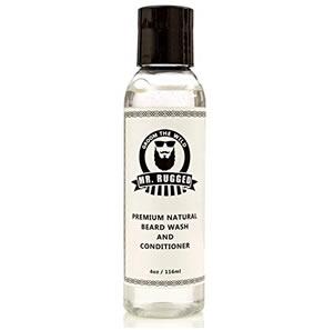 Mr Rugged Beard Wash Shampoo