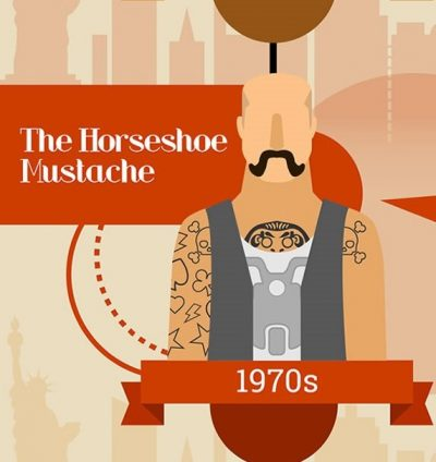 1970s horseshoe mustache