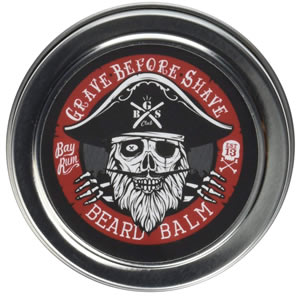 grave before shave beard balm bay rum