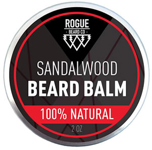 rogure sandalwood beard balm