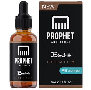 Prophet and Tools Unscented Beard Oil