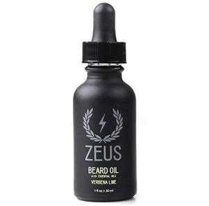 ZEUS Beard Oil for Men, Verbena Lime, 1 Ounce
