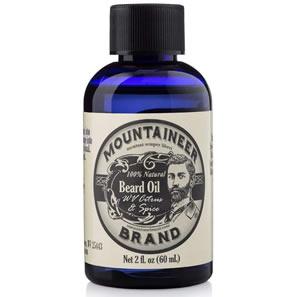 Beard Oil by Mountaineer Brand: 2 Ounce Bottle