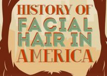 history of facial hair in america cover photo