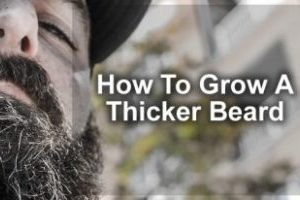 how to grow a thicker beard