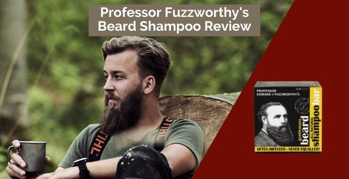 professor fuzzworthy's beard shampoo review cover