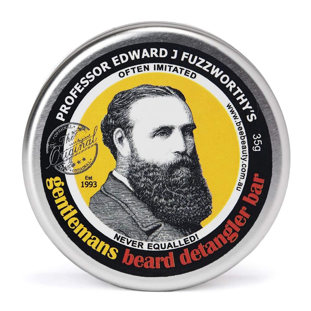 professor fuzzworthy beard detangler bar